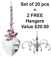 Sweetheart - set of 20 incl. 2x FREE HANGERS