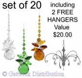 Sphere Sparkle - set of 20 incl. 2x FREE HANGERS