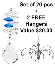 Mini Starburst - set of 20 incl. 2x FREE HANGERS