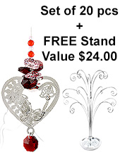 My Love - set of 20 incl. FREE STAND