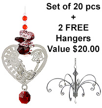 My Love - set of 20 incl. 2x FREE HANGERS