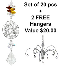 Starry Night - set of 20 incl. 2x FREE HANGERS