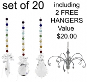 Chakra Galaxy - set of 20 incl. 2x FREE HANGERS