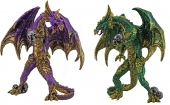 Standing Dragon - set of 2
