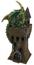 Green Dragon on Tower