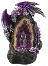 Purple Dragon on Thunder Egg