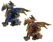 Two-headed Dragon - set of 2