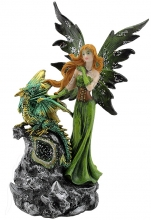 SPECIAL - Green Fairy with Dragon Baby