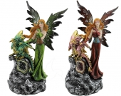 Fairy with Dragon Baby - set of 2</br><b>Online Special Only</b>