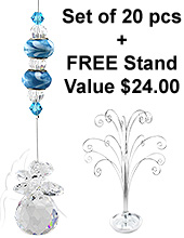 Crystal Delight - set of 20 incl. FREE STAND