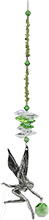 Pewter Large Tinkerbell Cluster & Gems