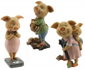 Pig Family - set of 3