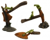 Frogs & Tools - set of 3