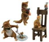 Cat & Mouse - set of 3
