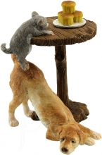 Dog & Kitten Table