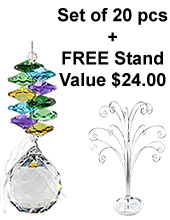 Enchanted Sphere - set of 20 incl. FREE STAND