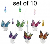 Mini Butterfly Sphere - set of 10