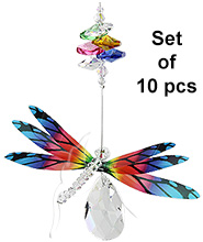 Dragonfly Almond Deluxe - set of 10