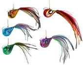 Feather Bird - 11cm set of 5</br><b>Online Special Only</b>