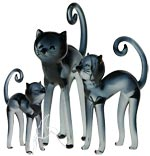 Classic Cats - set of 3