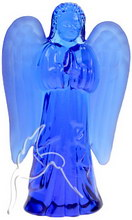 SPECIAL - Messenger Angel with Frosted Wings - Blue
