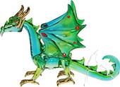 SPECIAL - Guardian Dragon - Green/Blue