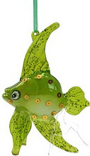 Bubble Bling Fish - Green - Hanging
