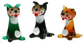 Alley Cats - set of 6