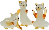 Golden Cats - set of 6
