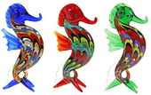 Psychedelic Seahorses - set of 6