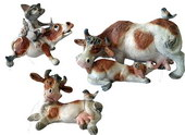 Dairy Cows - set of 3