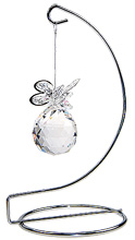 SPECIAL - 40mm Butterfly Sphere on stand