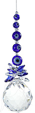 SPECIAL - Evil Eye Cluster on 40mm Sphere