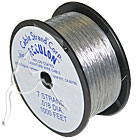 Nylon Coated Tiger Tail - Silver - 300metres